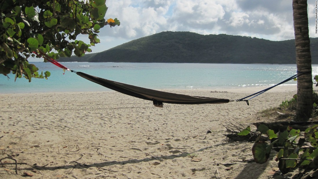 "Flamenco Beach in Culebra, Puerto Rico, was recently described as ""beautiful beyond words"" by one TripAdvisor reviewer."