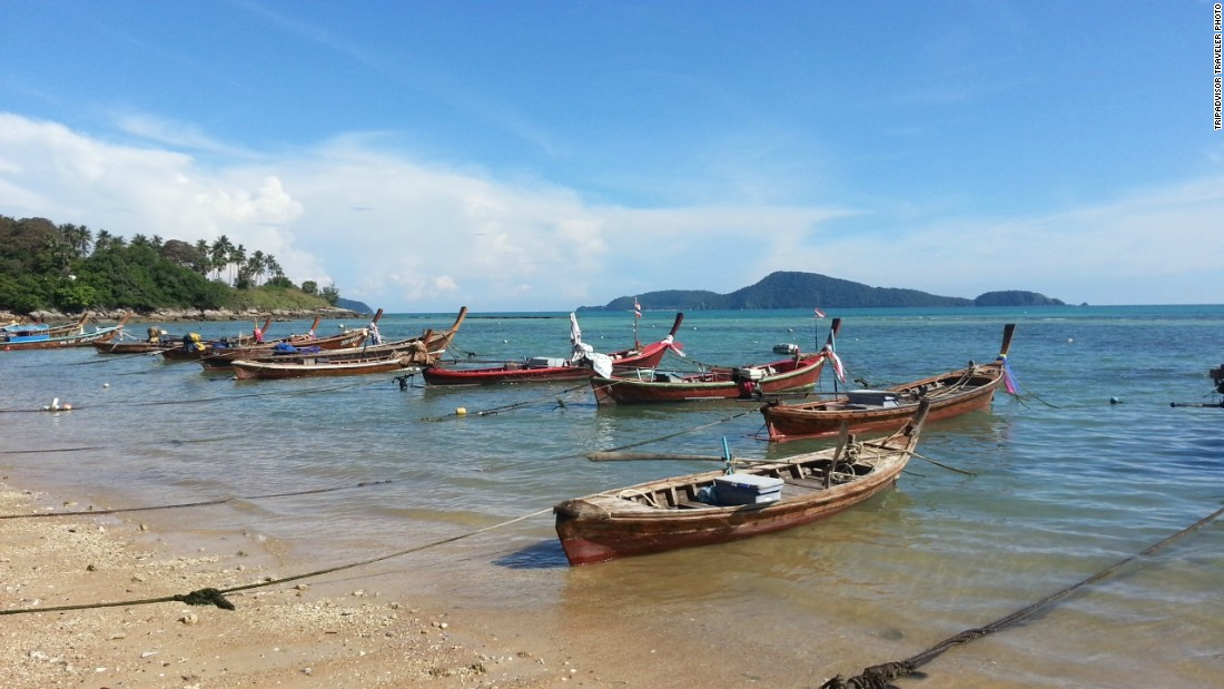 Nai Harn Beach is a favorite Phuket beach. It's ranked No. 18 on this year's global beaches list.