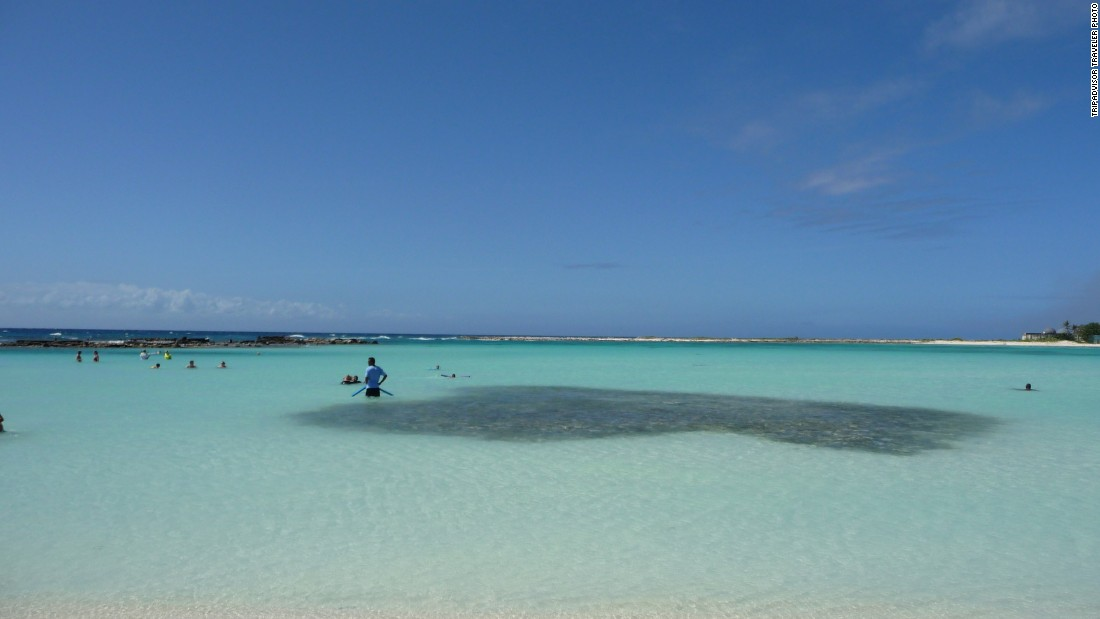 "Aruba's Eagle Beach is No. 23 on the global list. ""The water was lovely, calm and cool,"" wrote one recent visitor."
