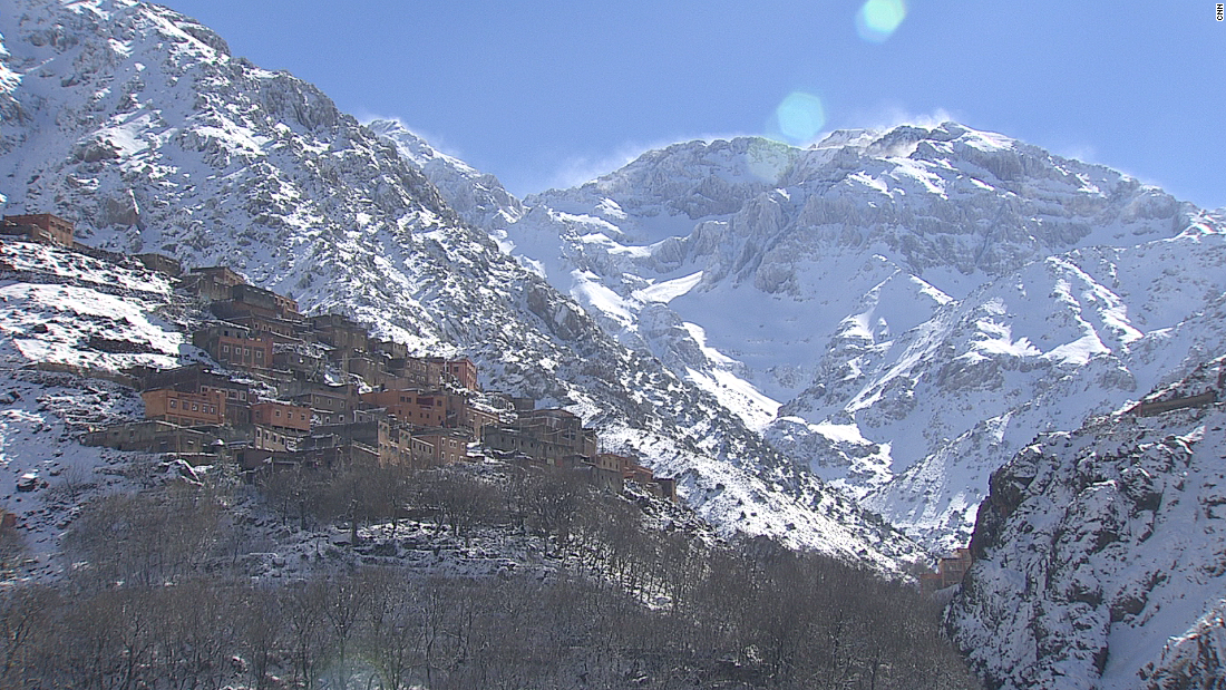 The Atlas Mountains of northwestern Africa are home to one of the highest peaks on the continent, Mount Toubkal. For thousands of years, the original inhabitants of North Africa, the Berbers, have lived in the range.