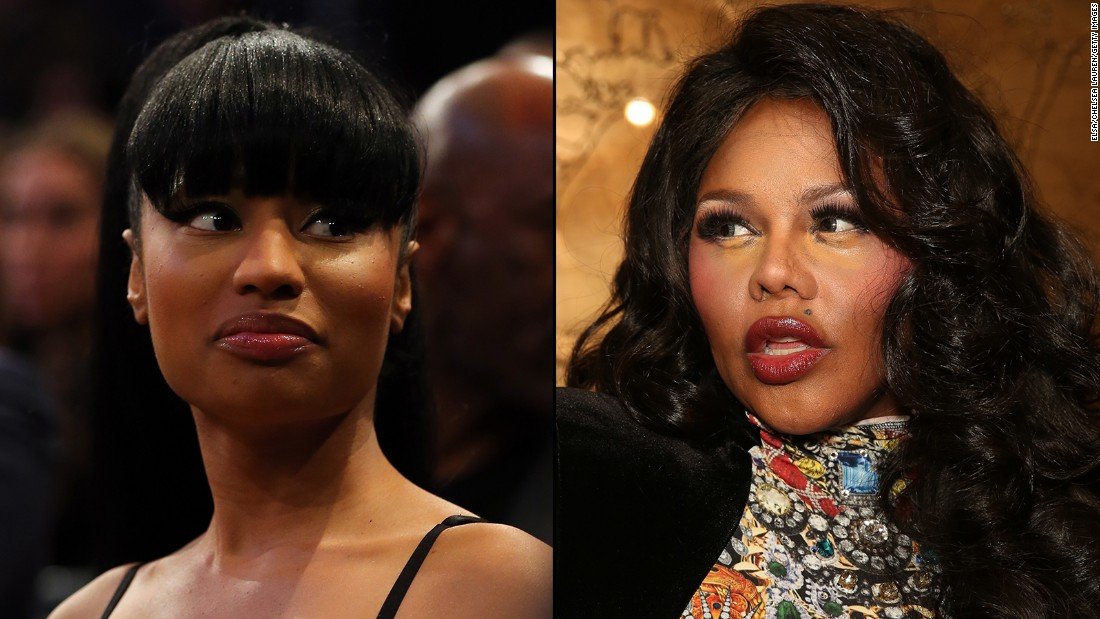 nicki minaj and lil kim fued To lil' kim, it seems, the old adage that imitation is the highest form of flattery is better suited to theory than actual practice the brooklyn rapper has been lashing out at lil wayne.