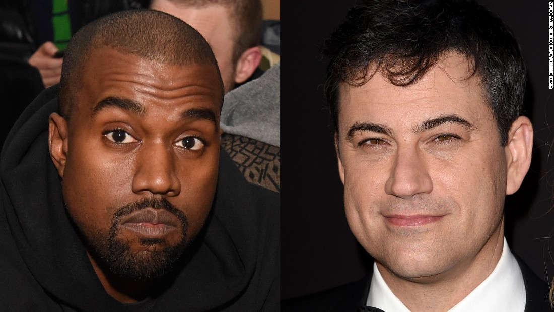 "Kanye West has given Jimmy Kimmel the rap feud he's always wanted. After <a href=""http://www.youtube.com/watch?v=It05EvqFD6s&feature=c4-overview&list=UUa6vGFO9ty8v5KZJXQxdhaw"" target=""_blank"">Kimmel poked fun at West's interview</a> with the BBC -- in which the entertainer called himself the No. 1 rock star on the planet -- <a href=""https://twitter.com/kanyewest/with_replies"" target=""_blank"">West went to Twitter to air his profane grievances</a> (in all caps, of course). The two later made amends with a televised sitdown."