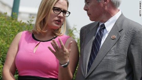 Rep. Kyrsten Sinema, D-Arizona, is a top target for Republicans in 2016.