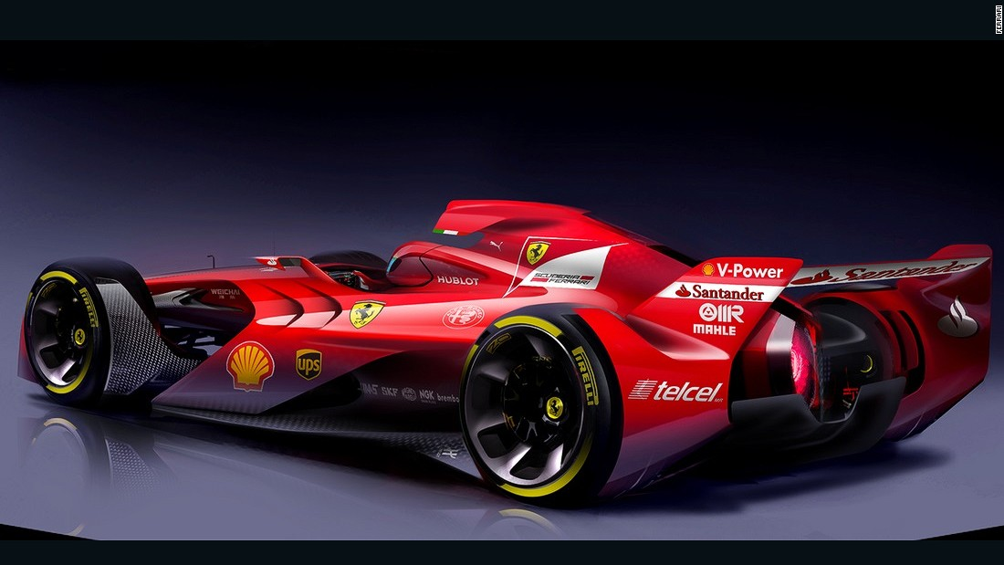 Is This The Formula One Car Of The Future Cnn
