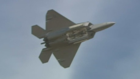 See the stealth fighter that's bombing ISIS