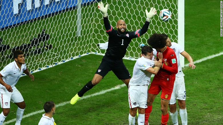 Tim Howard targets more World Cup moments in 2018