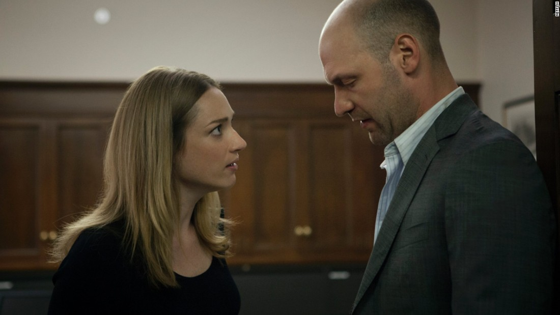 Peter Russo (Corey Stoll), a congressman from Pennsylvania, was blackmailed by the Underwoods after Frank quashed his DUI arrest. A dynamic but self-destructive figure, Russo was in a secret relationship with staffer Christina Gallagher (Kristen Connolly). Frank killed him near the end of Season 1, fearing he was becoming a liability.