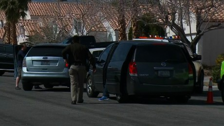Standoff underway near road-rage scene