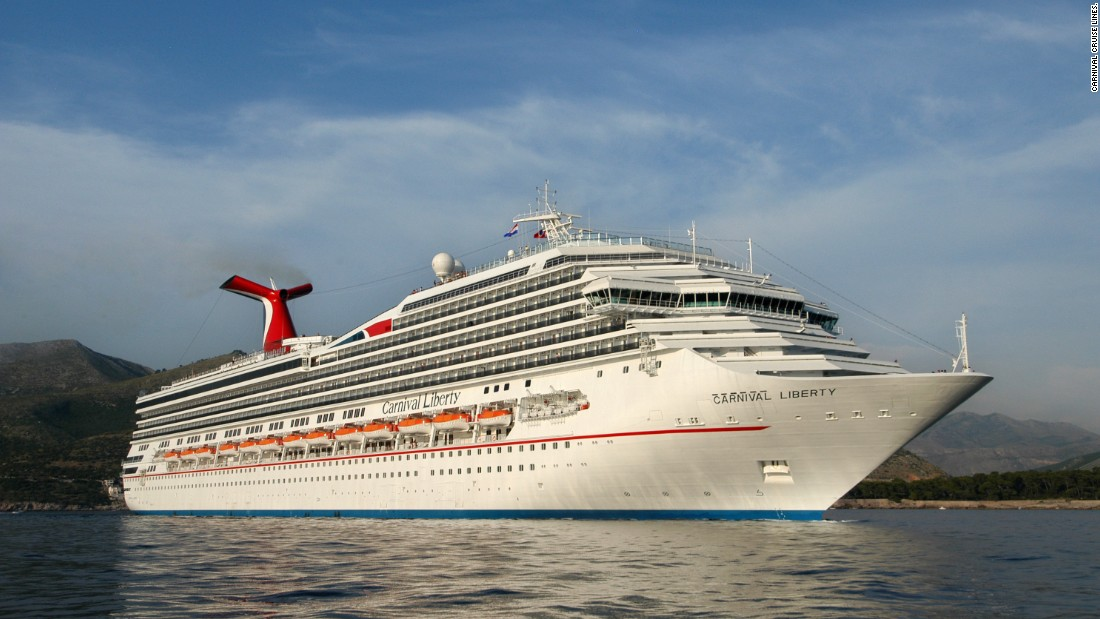 Carnival's Liberty cruise ship had an engine fire on Monday, September 7, during a scheduled port call in St. Thomas. Passengers were flown home from the island, cutting their seven-day cruise short. No one was hurt, and the company said passengers will be refunded their cruise fees.