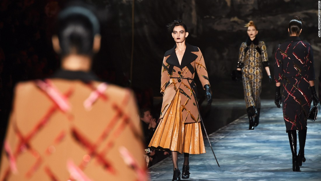 CNN was on the scene as designers showcased their fall 2015 collections at New York Fashion Week from February 12-19. Marc Jacobs rounded out the week-long affair with a deviant, jarring and beautiful collection.