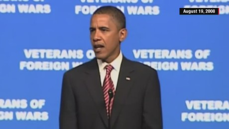 Obama in '08: 'I will let no one question my love for this country'
