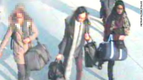 Appeal to trace three teenaged girls believed to have travelled to Syria  Police are appealing for information about three schoolgirls who have been reported missing and are believed to be making their way to Syria.  The missing girls are:  Shamima Begum, 15-years-old - possibly travelling under the name of Aklima Begum, 17-years-old.  Kadiza Sultana, 16-years-old.   A third 15-year-old female who is not being named at the request of her family. All three girls are pupils at a school in east London and are close friends.   They were last seen on the morning of Tuesday, 17 February at their home addresses.