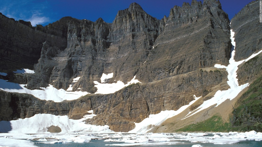 Glacier National Park in Montana held onto tenth place for the second year in a row.