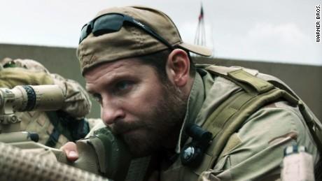 "Bradley Cooper in ""American Sniper."""