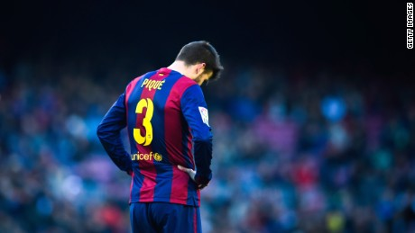 Barcelona's title chances took a huge blow after a 1-0 defeat at home to Malaga.