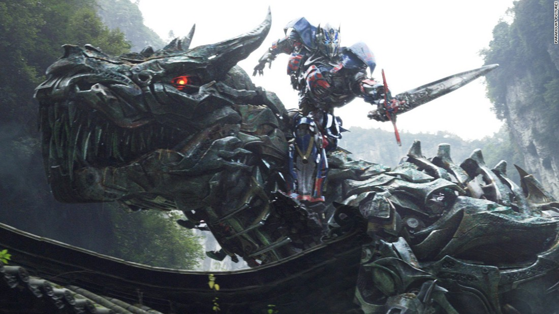 "Michael Bay received the Razzie for worst director for ""Transformers: Age of Extinction."""
