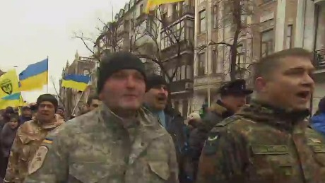 Ukraine marks one year since president's ouster