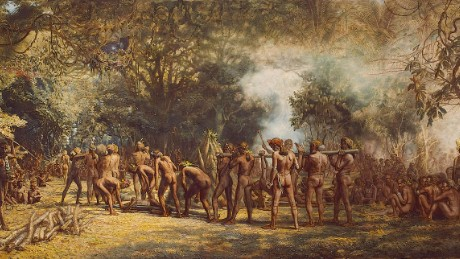 """Cannibal Feast on the Island of Tanna"" by Charles Gordon Frazer"
