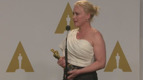 raw oscars patricia arquette backstage youtube_00013008