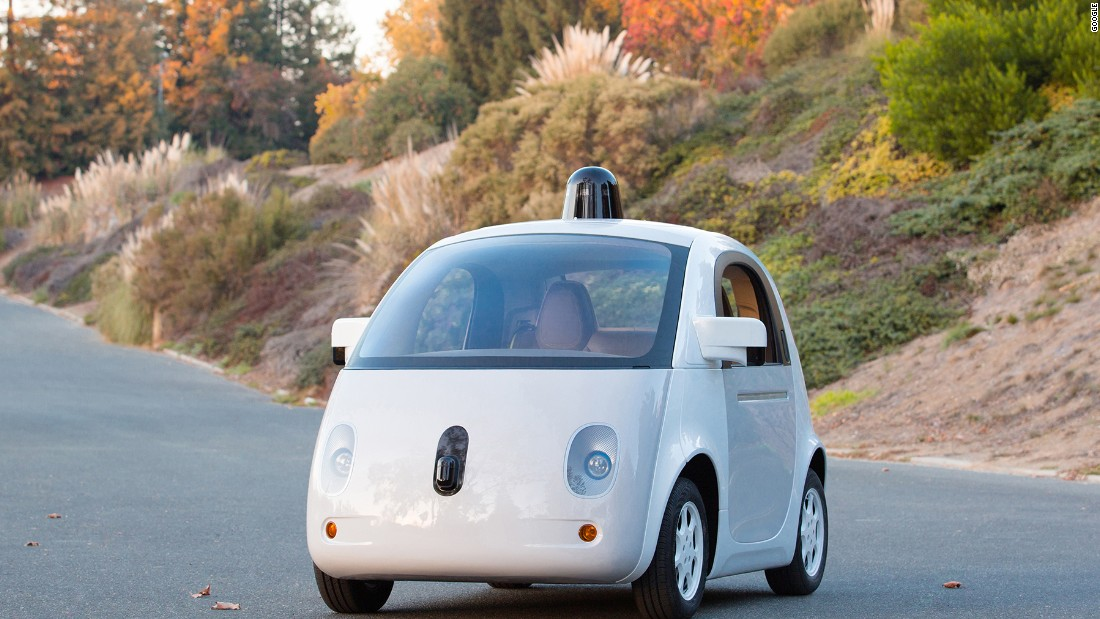 "The <a href=""https://plus.google.com/+GoogleSelfDrivingCars/videos"" target=""_blank"">Google Self-Driving Car</a> is the brainchild of YooJung Ahn, Jared Gross and Philipp Haba. Intended to be simple, friendly and practical,  the lack of steering wheel or pedals is sure to raise a few eyebrows. Google plans to use the vehicles to test their newest software & hardware and develop the technologies for use in the real world."