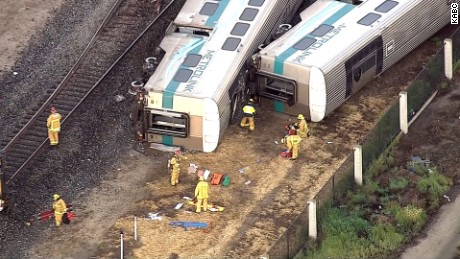 At least 30 injured after commuter rail hits vehicle near Oxnard, California