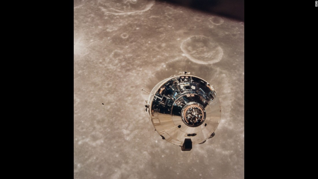 "The space module ""Charlie Brown"" became the first spacecraft photographed in lunar orbit during the Apollo 10 mission in May 1969."