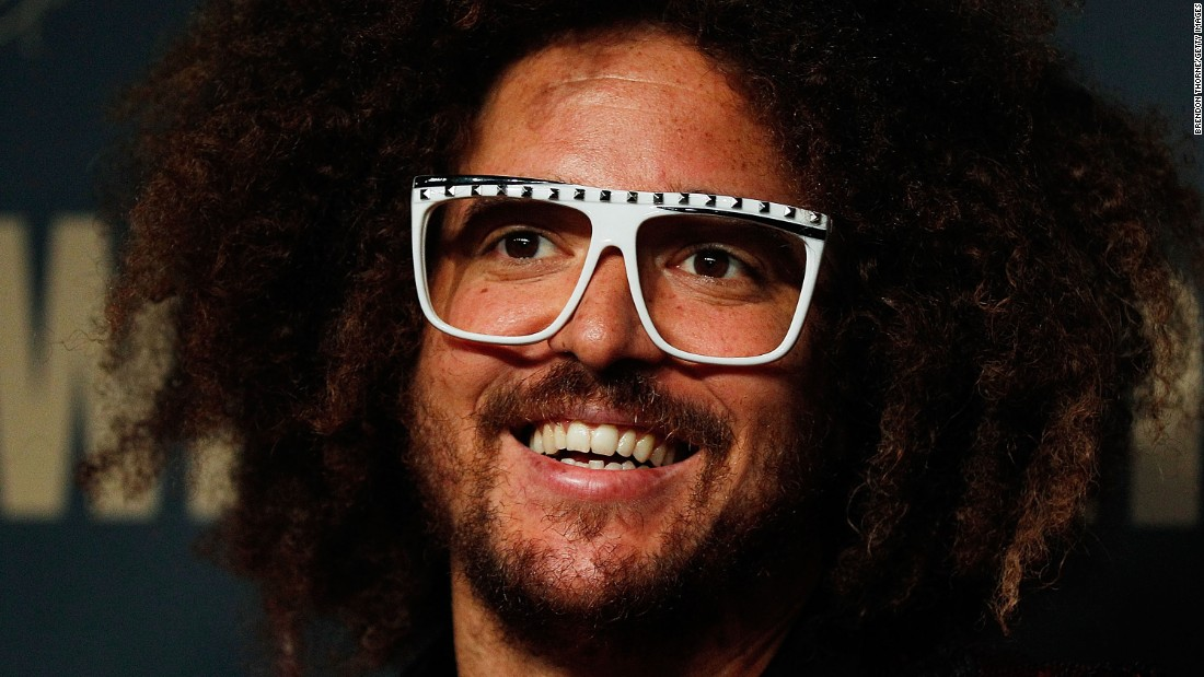 Redfoo, half of the music duo LMFAO