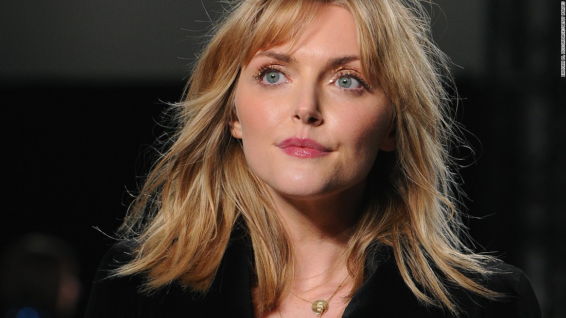 "The Temperley London show marked a return to the runway for Sophie Dahl. (You may or may not recognize her from <a href=""http://fashion.telegraph.co.uk/article/TMG9299894/YSL-Opium-advert-is-eighth-most-complained-about.html"" target=""_blank"">this YSL campaign</a>.)"
