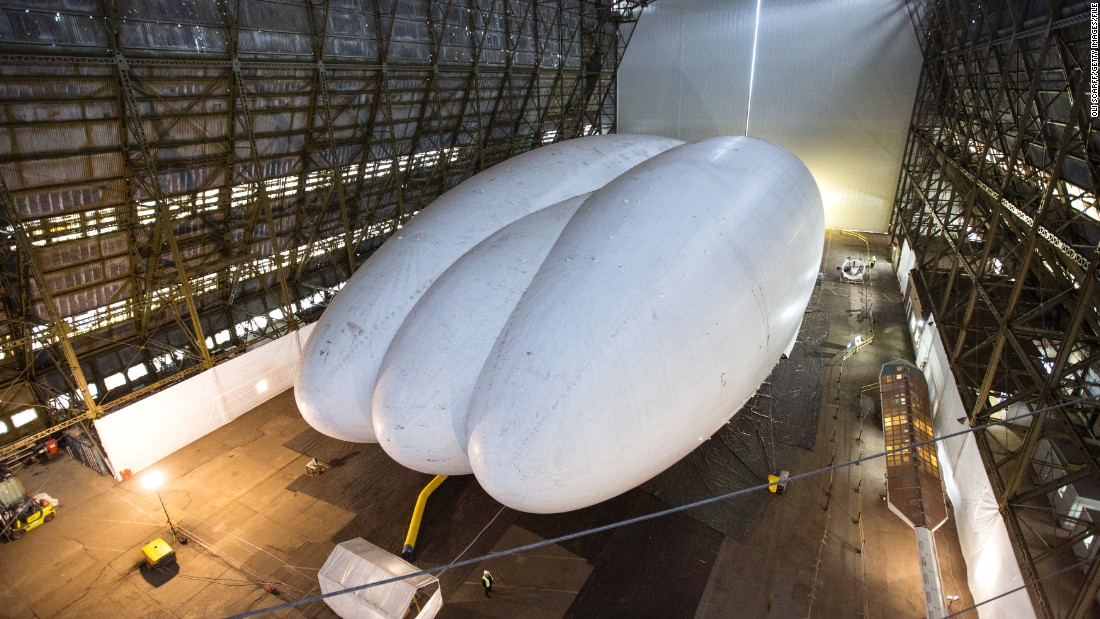 If tests prove successful, the Airlander could be making its first proper UK flights later in 2016.