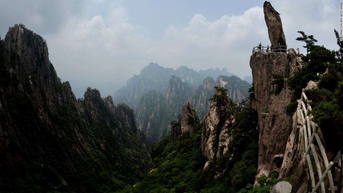 Mount Huangshan in Anhui province is a UNESCO World Heritage Site and one of China's major tourist destinations. It's also been a source of inspiration to generations of Chinese writers and painters.