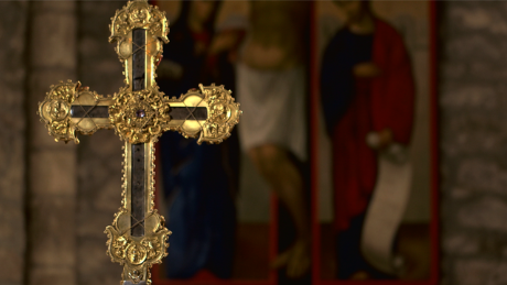 Are pieces of the cross Jesus died on still in existence today?  The incredible legend of the True Cross is investigated.