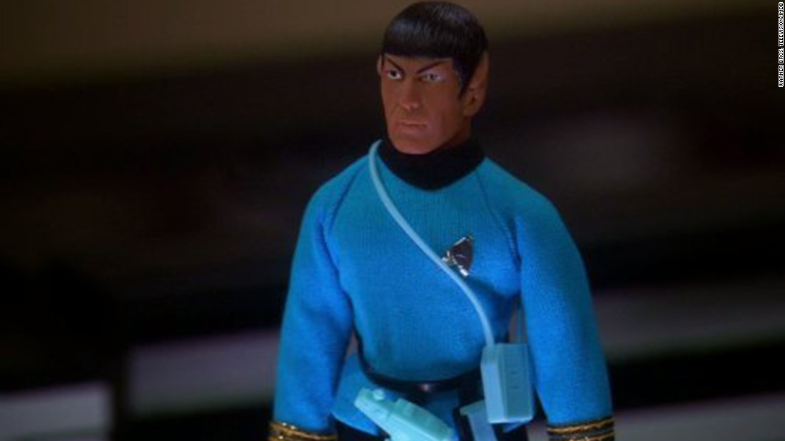 "Nimoy appeared on ""The Big Bang Theory"" ... sort of. He provided the voice for an action figure of Spock owned by Sheldon Cooper (Jim Parsons)."