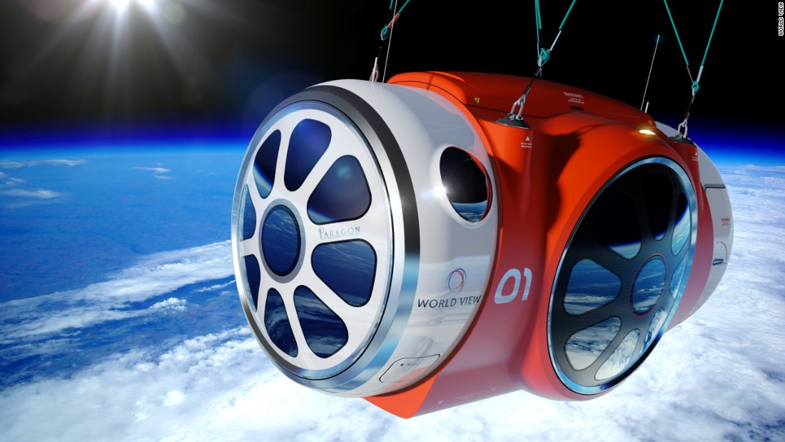 Αποτέλεσμα εικόνας για Now space tourism enthusiasts can take a trip to space in a passenger capsule