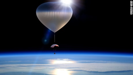 World View will have Voyagers gliding peacefully along the edge of space for a two-hour sailing-like experience.