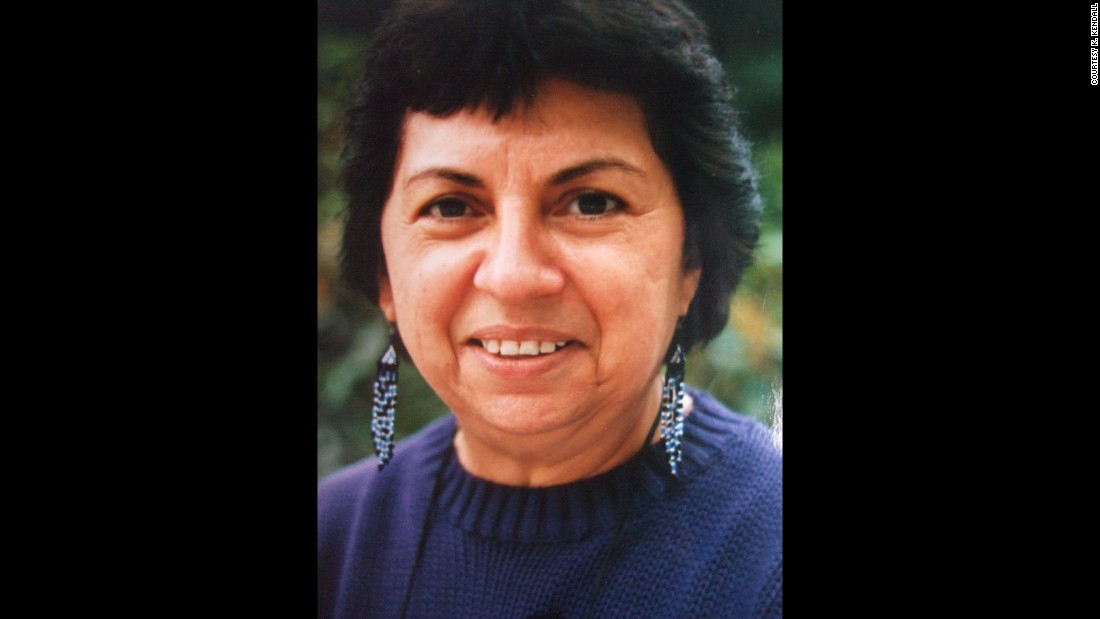 "Feminist activist and theorist <a href=""http://library.ucsc.edu/exhibits/gloria-e-anzald%C3%BAa-memorial-altares-exhibit"" target=""_blank"">Gloria Anzaldua</a> (1942-2004) was known for writings and teachings related to the Chicana movement and lesbian/queer theory. Among her writings, written in a mix of English and Spanish, is the autobiographical narrative ""Borderlands: The New Mestiza."" She was a lecturer in women's studies at the University of California, Santa Cruz, where a collection of altar objects she used in her creative process is on display at the McHenry Library. The library appears in the app."