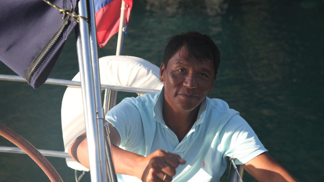 Owner-skipper Raul Bulaong knows the waters around Palawan intimately.