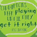 IWD Billie Jean King