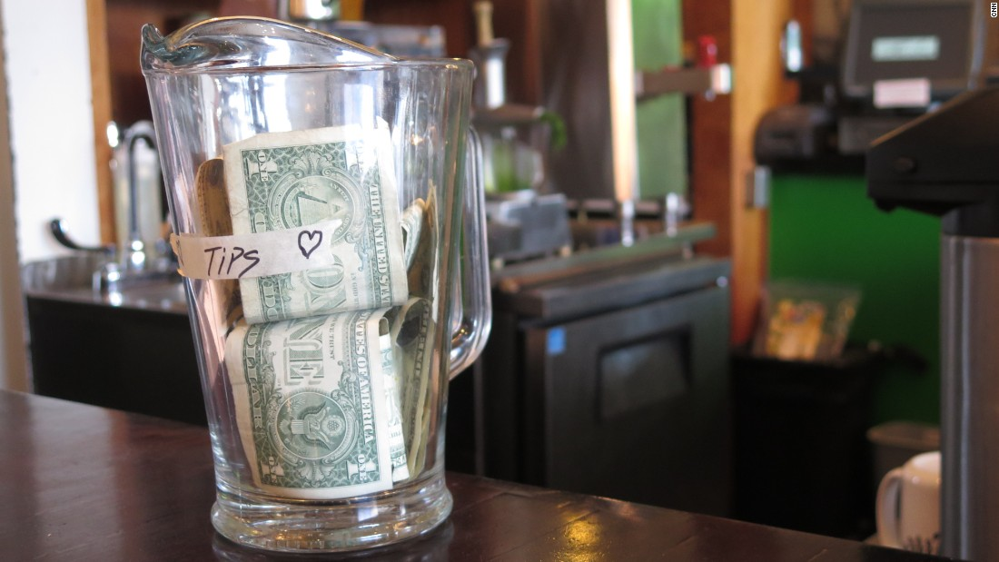 "Annoying? Yes. Legally required? No. Basically expected? Sometimes yes. Sometimes no. You can generally stiff the counter tip jar without risking social opprobrium but there are plenty of times you're more or less expected to say ""thank you"" with money in the United States."