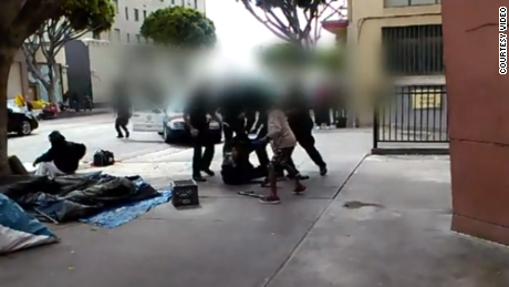 New video shows LAPD shooting of unarmed man