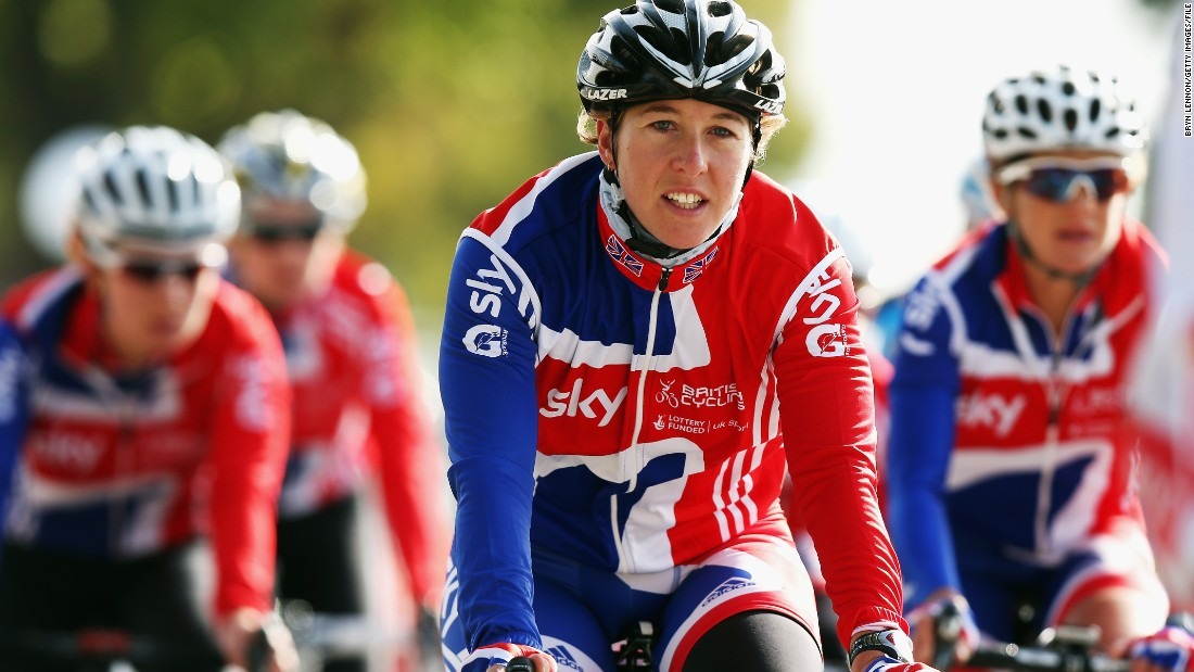 "Olympic road race champion Nicole Cooke (pictured) said: ""The poster is sexist and reflects the sexism that exists in cycling and sport. I am disappointed that the UCI did not sanction the race organizers, as the UCI has the power to take resolute action."""