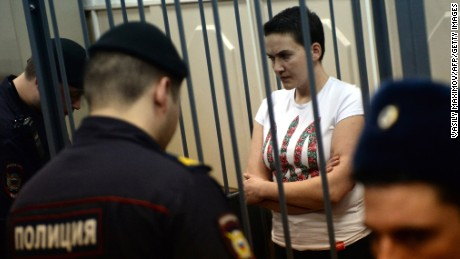 Putin holds Ukraine pilot's fate, says her lawyer