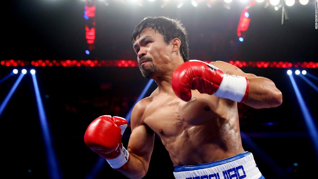 Pacquiao most recently won a unanimous decision over Chris Algieri of the United States during the WBO world welterweight title at The Venetian on November 23, 2014 in Macau.