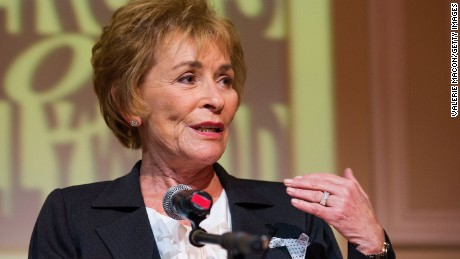 Judge Judy Sheindlin attends the 2014 Heroes Of Hollywood Luncheon in June 2014 in Hollywood, California.