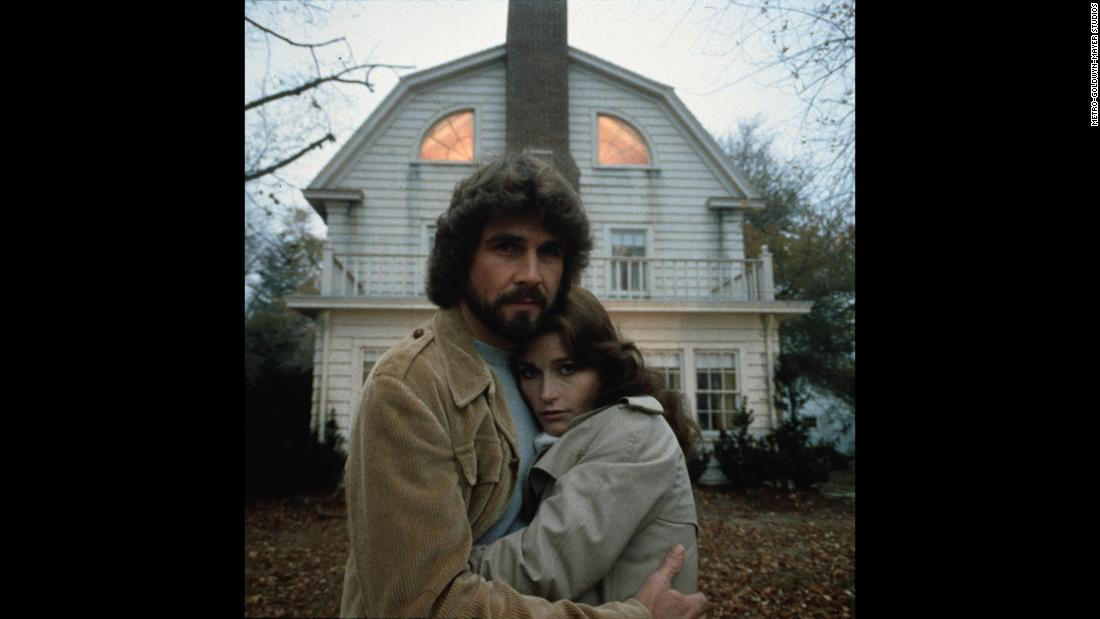 "<strong>""Amityville Horror"":</strong> James Brolin and Margot Kidder star as a couple who get more than they bargained for with a home they purchase in Amityville, New York. <strong>(Hulu)</strong>"