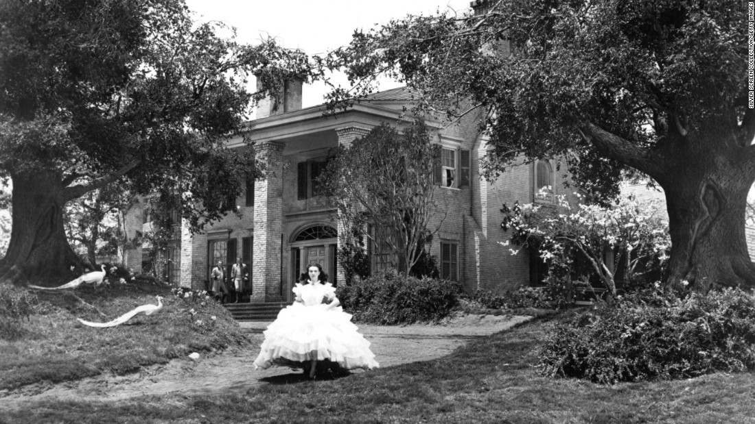 Tara, the fictional Southern plantation house in this 1939 epic, was only a plywood and papier-mâché facade built on the Forty Acres back lot in Hollywood.