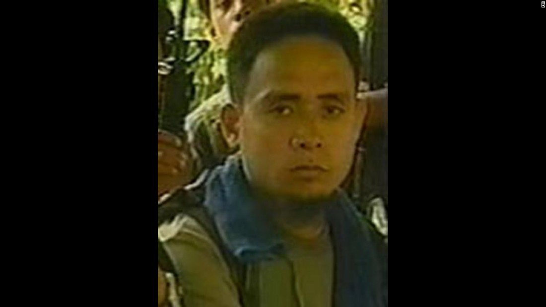 "<a href=""http://www.cnn.com/2002/LAW/07/23/philippines.rebels.charges/index.html"">Isnilon Totoni Hapilon</a>, an alleged member of the Philippine Islamic Abu Sayyaf rebel group, was indicted in 2002 in connection with the kidnappings and deaths of Americans and Filipinos, the FBI said."