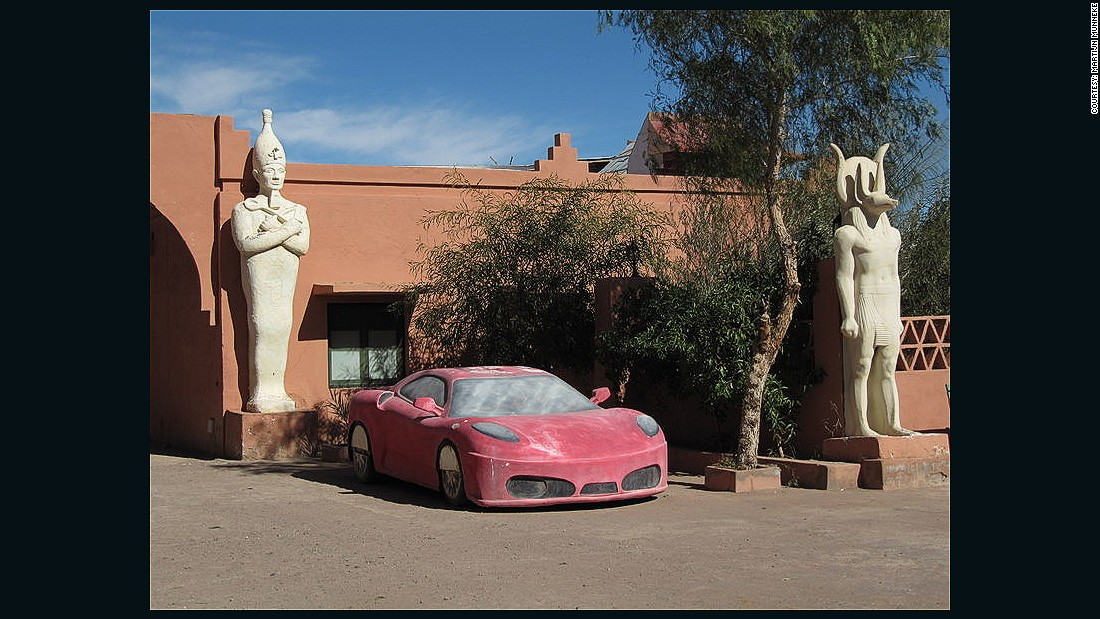 Studios in Ouarzazate offer filmmakers dozens of set options and props, from Styrofoam Egyptian temples to colorful cars. Some studios even have horses for hire.