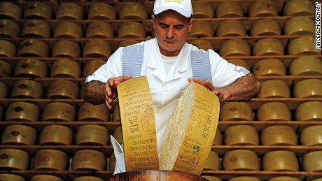 Modena, Italy is where you'll find the world's best Parmigiano-Reggiano cheese.