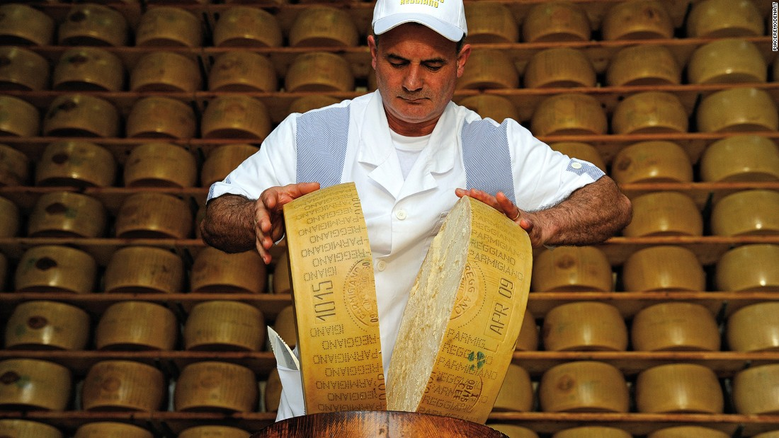 For the world's best Parmigiano-Reggiano, you need to visit Modena. Dubbed the King of Cheese, its big round shape, crumbly surface and strong, salty taste are best enjoyed after at least 24 months of seasoning.