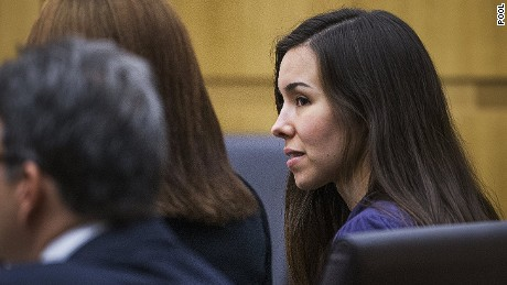 Jodi Arias appears at trial on March 3, 2015.